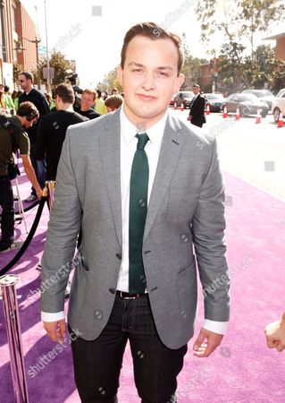 Actor Noah Munck arrives at the 26th annual Nickelodeon's Kids' Choice Awards, in Los Angeles