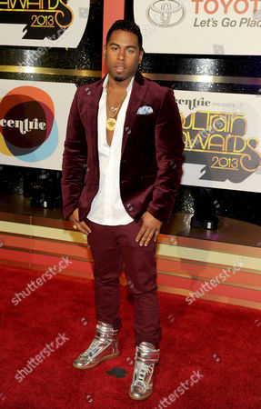 Singer Bobby V arrives at the 2013 Soul Train Awards at the Orleans Arena on in Las Vegas