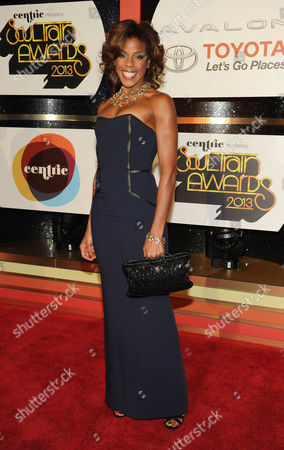 Editorial picture of 2013 Soul Train Awards - Arrivals, Las Vegas, USA
