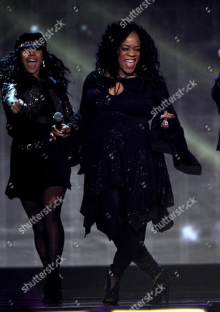 Evelyn 'Champagne' King performs onstage at the 2013 Soul Train Awards at the Orleans Arena on in Las Vegas
