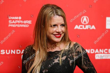 "Producer Heidi Jo Markel poses at the premiere of ""Lovelace"" during the 2013 Sundance Film Festival on in Park City, Utah"