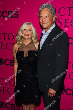 Stock Picture of Sharen Turney and Charles Turney attend the Victoria's Secret Fashion Show on in New York
