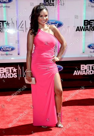 Stock Picture of Joyful Drake arrives at the BET Awards at the Nokia Theatre, in Los Angeles