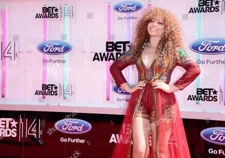 Editorial picture of 2014 BET Awards - Arrivals, Los Angeles, USA