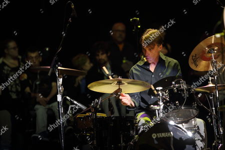 Matt Cameron and Soundgarden perform at the 2014 Bridge School Benefit at the Shoreline Amphitheatre in Mountain View California on