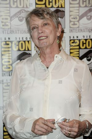 "Lois Lowry attends ""The Giver"" press line on Day 1 of Comic-Con International, in San Diego"