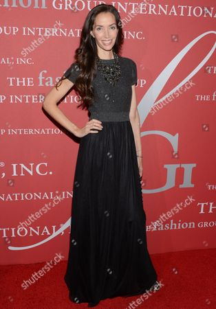 "Olivia Chantecaille attends Fashion Group International's 31st Annual ""Night of Stars"" at Cipriani Wall Street on in New York"