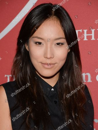"""Ji Oh attends Fashion Group International's 31st Annual """"Night of Stars"""" at Cipriani Wall Street on in New York"""