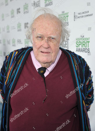 M. Emmet Walsh arrives at the 2014 Film Independent Spirit Awards,, in Santa Monica, Calif
