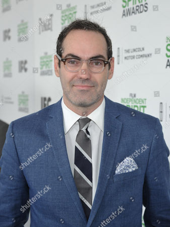Chad Hartigan arrives at the 2014 Film Independent Spirit Awards,, in Santa Monica, Calif