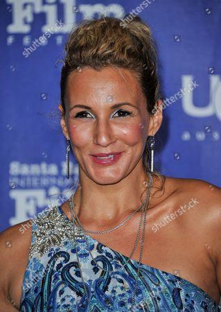 Sarah Farooqui seen at 2014 Santa Barbara International Film Festival - Outstanding Director Award ceremony on Friday, Jan, 31, 2014 in Santa Barbara, Calif