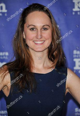 Stock Picture of Erin Krozek seen at 2014 Santa Barbara International Film Festival - Outstanding Director Award ceremony on Friday, Jan, 31, 2014 in Santa Barbara, Calif