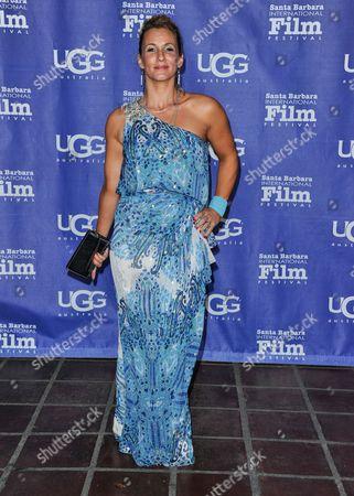 Stock Picture of Sarah Farooqui seen at 2014 Santa Barbara International Film Festival - Outstanding Director Award ceremony on Friday, Jan, 31, 2014 in Santa Barbara, Calif