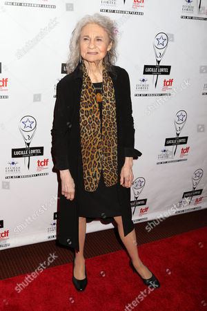 Actress Lynn Cohen attends the 29th Annual Lucille Lortel Awards at the NYU Skirball Center, in New York