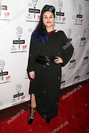 Choreographer Sonya Tayeh attends the 29th Annual Lucille Lortel Awards at the NYU Skirball Center, in New York