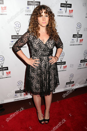 Actress Hannah Bos attends the 29th Annual Lucille Lortel Awards at the NYU Skirball Center, in New York