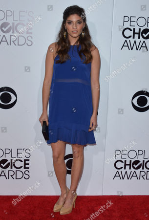Amanda Setton arrives at the 40th annual People's Choice Awards at Nokia Theatre L.A. Live, in Los Angeles