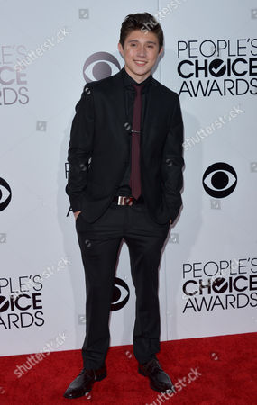Mateus Ward arrives at the 40th annual People's Choice Awards at Nokia Theatre L.A. Live, in Los Angeles