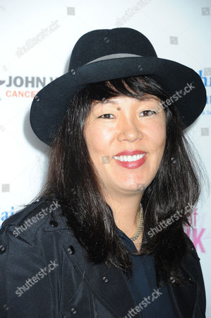Jeanne Yang arrives at 2014 Power of Pink: An Acoustic Evening With Pink And Friends at House of Blues, in Los Angeles