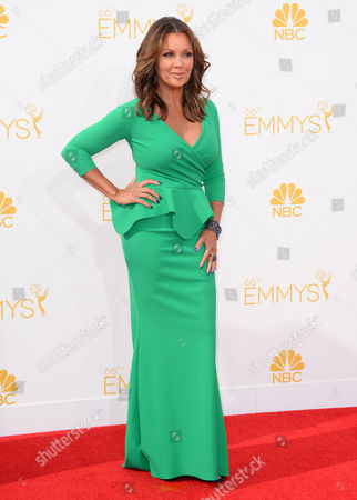 Vanessa L. Williams arrives at the 66th Annual Primetime Emmy Awards at the Nokia Theatre L.A. Live, in Los Angeles