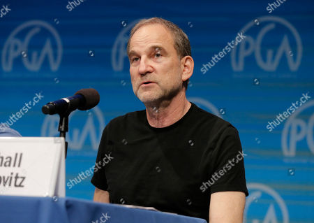 Marshall Herskovitz is seen during The Revolution Has Just Been Televised: The Disrupted Landscape of TV panel at the 2014 Produced By Conference - Day 1 at Warner Bros. Studios, in Burbank, Calif