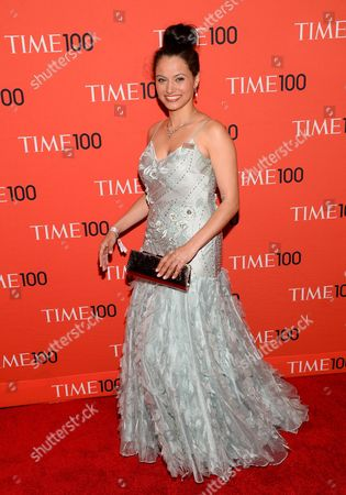 Withelma 'T' Ortiz Walker Pettigrew arrives at the 2014 TIME 100 Gala held at Frederick P. Rose Hall, Jazz at Lincoln Center on in New York