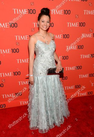 Stock Photo of Withelma 'T' Ortiz Walker Pettigrew arrives at the 2014 TIME 100 Gala held at Frederick P. Rose Hall, Jazz at Lincoln Center on in New York