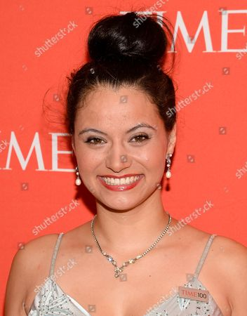 Stock Picture of Withelma 'T' Ortiz Walker Pettigrew arrives at the 2014 TIME 100 Gala held at Frederick P. Rose Hall, Jazz at Lincoln Center on in New York
