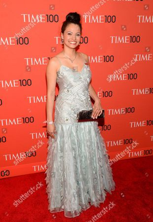 Editorial picture of 2014 TIME 100 Gala - Arrivals, New York, USA