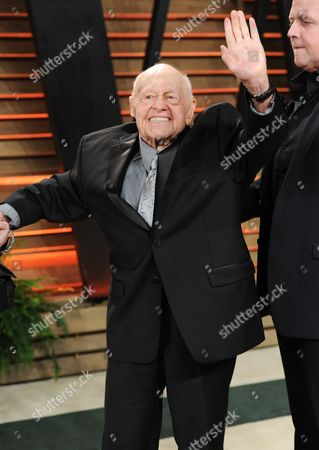 Mickey Rooney attends the 2014 Vanity Fair Oscar Party,, in West Hollywood, Calif