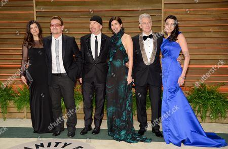Editorial image of 2014 Vanity Fair Oscar Party, West Hollywood, USA