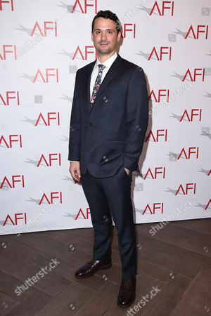Spencer Averick arrives at the AFI Awards at The Four Seasons Hotel on in Los Angeles