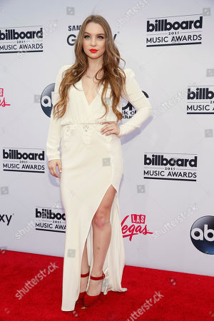 Alexa Losey arrives at the Billboard Music Awards at the MGM Grand Garden Arena, in Las Vegas