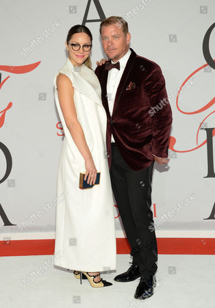 Editorial picture of 2015 CFDA Fashion Awards - Red Carpet Arrivals, New York, USA