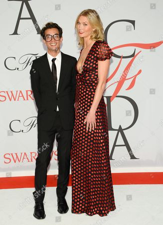 Editorial image of 2015 CFDA Fashion Awards - Red Carpet Arrivals, New York, USA