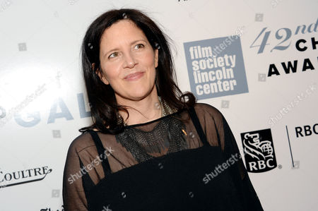 Filmmaker Laura Poitras arrives at the 42nd Annual Chaplin Award Gala Honoring Robert Redford at Alice Tully Hall, in New York