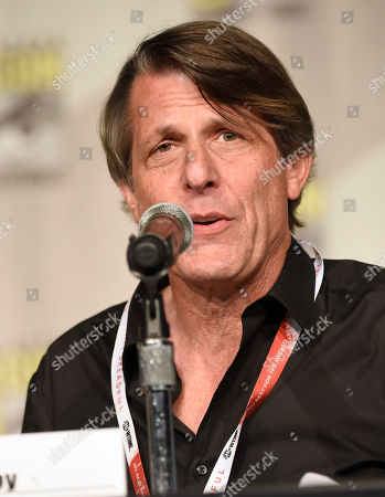 """Adam Nimoy attends the """"NASA: Turning Science Fiction into Science Fact"""" panel on day 1 of Comic-Con International, in San Diego, Calif"""