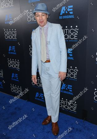 French Stewart arrives at the Critics' Choice Television Awards at the Beverly Hilton hotel, in Beverly Hills, Calif