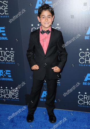 Blake Garrett Rosenthal arrives at the Critics' Choice Television Awards at the Beverly Hilton hotel, in Beverly Hills, Calif