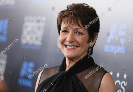 Ivonne Coll arrives at the Critics' Choice Television Awards at the Beverly Hilton hotel, in Beverly Hills, Calif