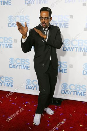 Kristoff St. John arrives at the 2015 Daytime Emmy Awards CBS After Party at The Hollywood Athletic Club, in Los Angeles