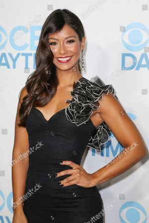 Manuela Arbelaez arrives at the 2015 Daytime Emmy Awards CBS After Party at The Hollywood Athletic Club, in Los Angeles
