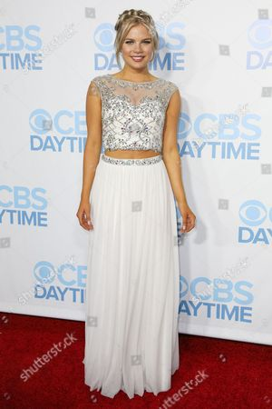 Kelli Goss arrives at the 2015 Daytime Emmy Awards CBS After Party at The Hollywood Athletic Club, in Los Angeles