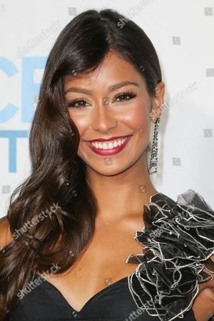 Stock Picture of Manuela Arbelaez arrives at the 2015 Daytime Emmy Awards CBS After Party at The Hollywood Athletic Club, in Los Angeles