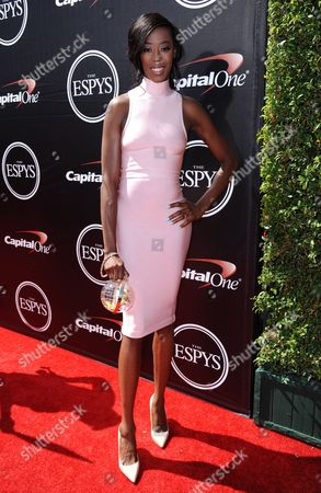 Editorial picture of 2015 ESPY Awards - Red Carpet, Los Angeles, USA