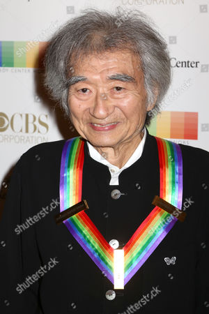 Stock Photo of 2015 Kennedy Center Honoree Seiji Ozawa attends the 38th Annual Kennedy Center Honors at The Kennedy Center Hall of States, in Washington