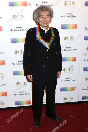 2015 Kennedy Center Honoree Seiji Ozawa attends the 38th Annual Kennedy Center Honors at The Kennedy Center Hall of States, in Washington