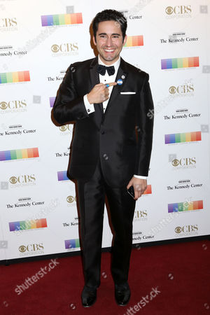 John Lloyd Young attends the 38th Annual Kennedy Center Honors at The Kennedy Center Hall of States, in Washington