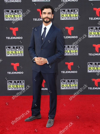Gonzalo Garcia Vivanco arrives at the Latin American Music Awards at the Dolby Theatre, in Los Angeles