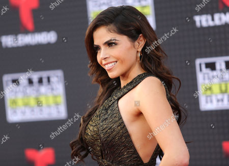Yarel Ramos arrives at the Latin American Music Awards at the Dolby Theatre, in Los Angeles